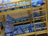 Кровать детская двухъярусная 1400x600x1400