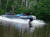 Моторная лодка компас 400, мотор парсун 25